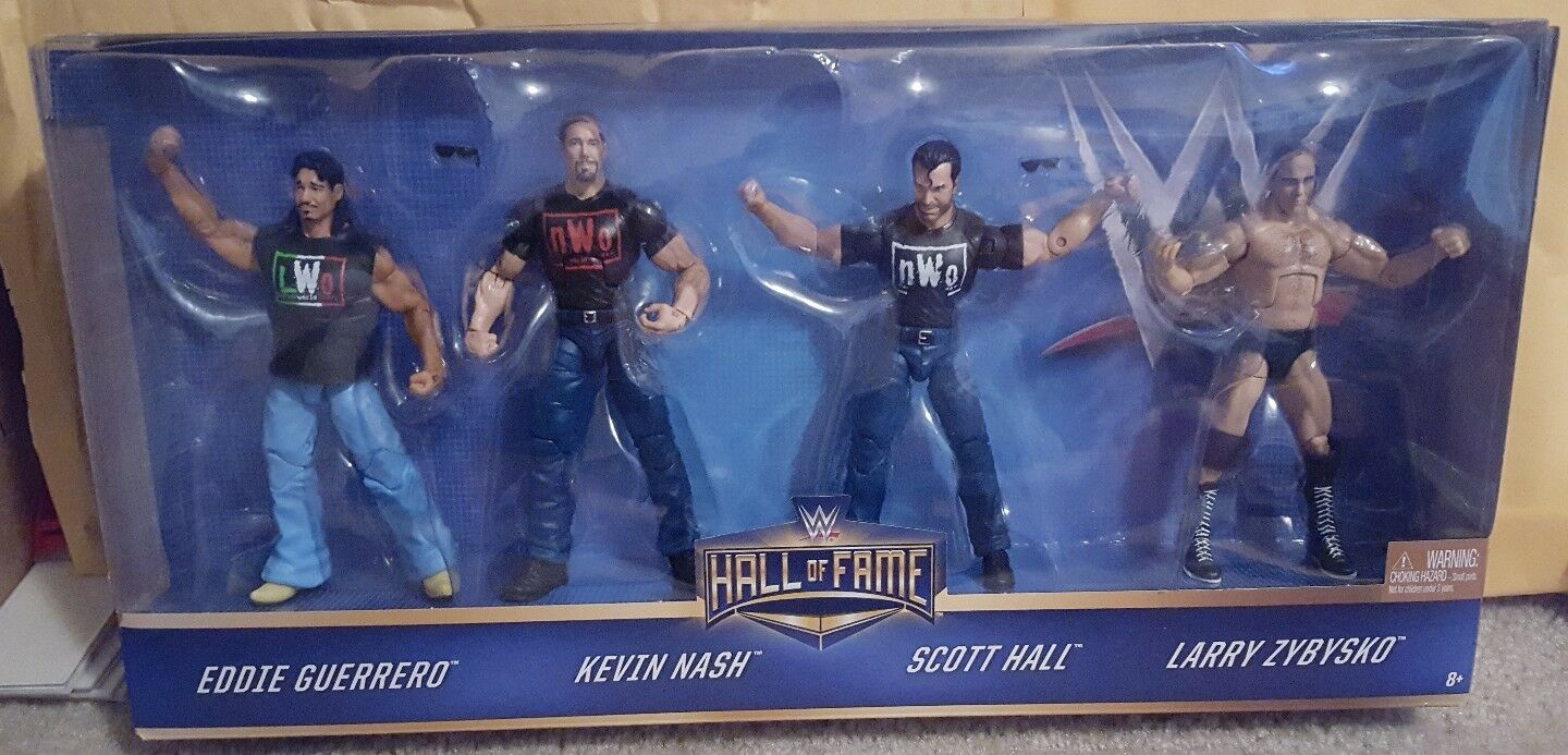 NEW WWE Mattel Elite Collection Hall Of Fame WCW Nitro Notables Target NWO HOF