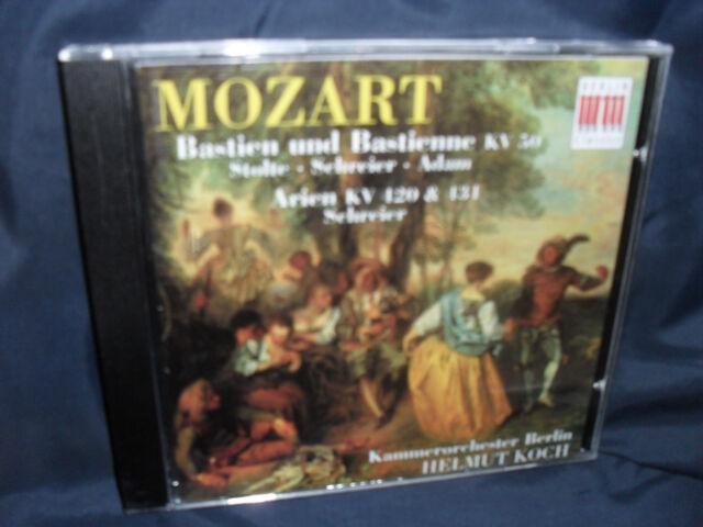 Mozart - Bastien Und Bastienne / Arien KV 420 / 431 -Schreier / Koch