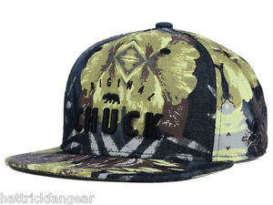 9fd765934f6 Original Chuck Chill Brah Camoflage Snapback Flat Bill Style Cap Hat ...