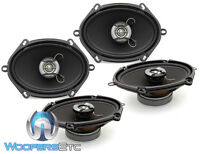 2 Sets Focal Auditor R-570c Car 5x7 6x8 480w Max 2-way Coaxial Speakers