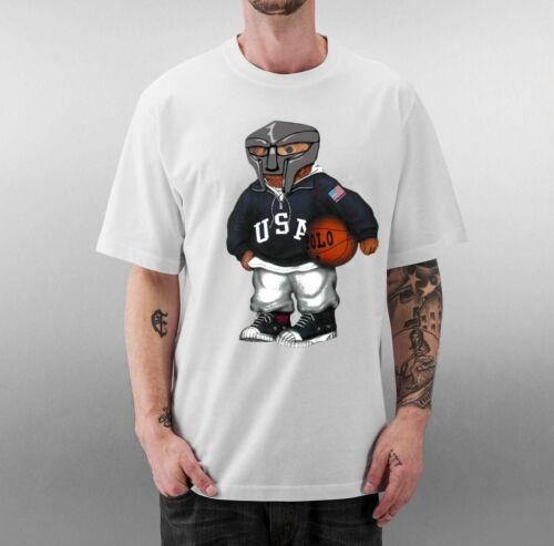 MF DOOM X POLO T Shirt Hip Hop NEW ALL SIZES