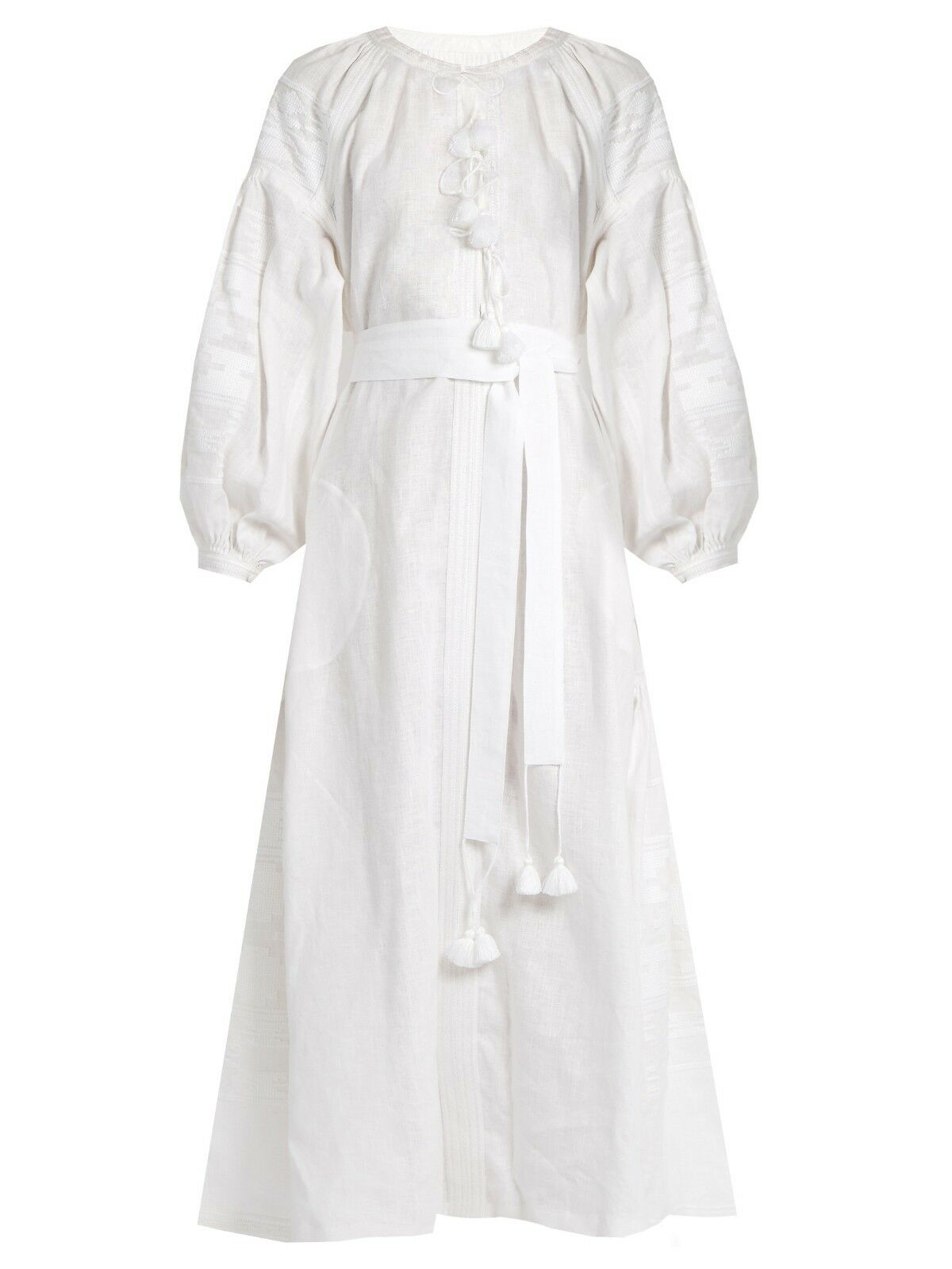 Embroidered white linen dress boho style -ukrainian ethnic vyshyvanka. All All All sizes 470558