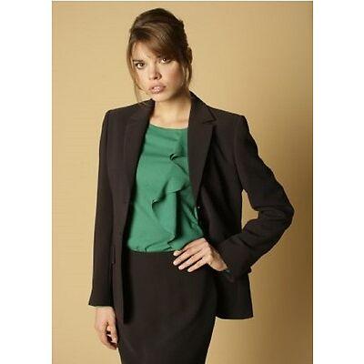 New Ladies Skopes 3 Button Jacket Danielle Navy WWJ331 Work Office Hotel Wear