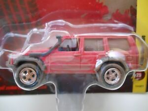Lifted Jeep Cherokee >> Details About Johnny Lightning Off Road Dirty Lifted Jeep Cherokee 1 64 Diecast