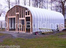 Durospan Steel 25x30x13 Metal Garage Diy Home Shop Building Kit Open Ends Direct