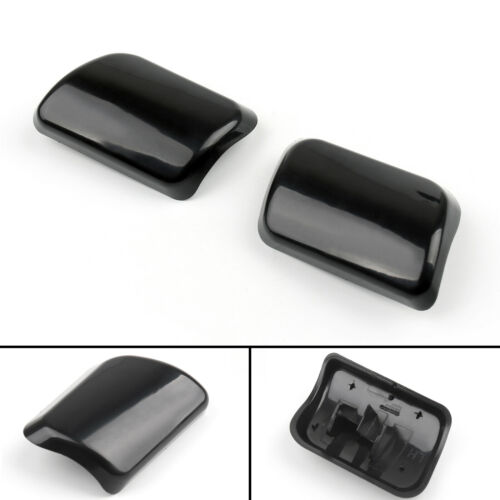 2pcs Headlight Washer Jet Cover Cap for VOLVO XC90 02-06 30698209 30698208 B//