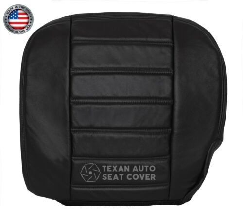 2005 Hummer H2 Luxury SUV SUT Truck Driver Side Bottom Leather Seat Cover Black