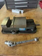 Kurt Anglock 6 Milling Machine Vise D60 With Jaws And Handle