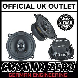 Renault-Clio-Mk3-05-09-GroundZero-440W-13cm-2way-Coaxial-Front-amp-Rear-Speakers