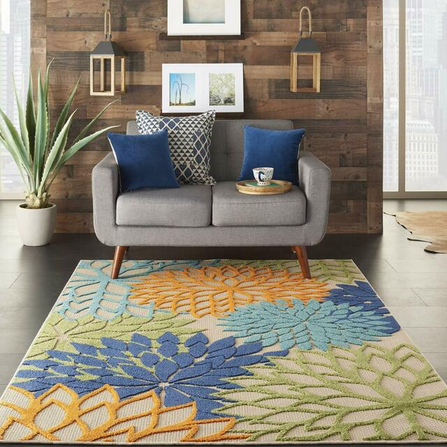 Kas Rugs Emerald 90 Tropical Border