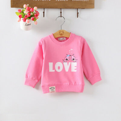 DIIMUU Toddler Baby Girls Long Sleeve Warm Tops Infant Girl Winter Lovely Shirt