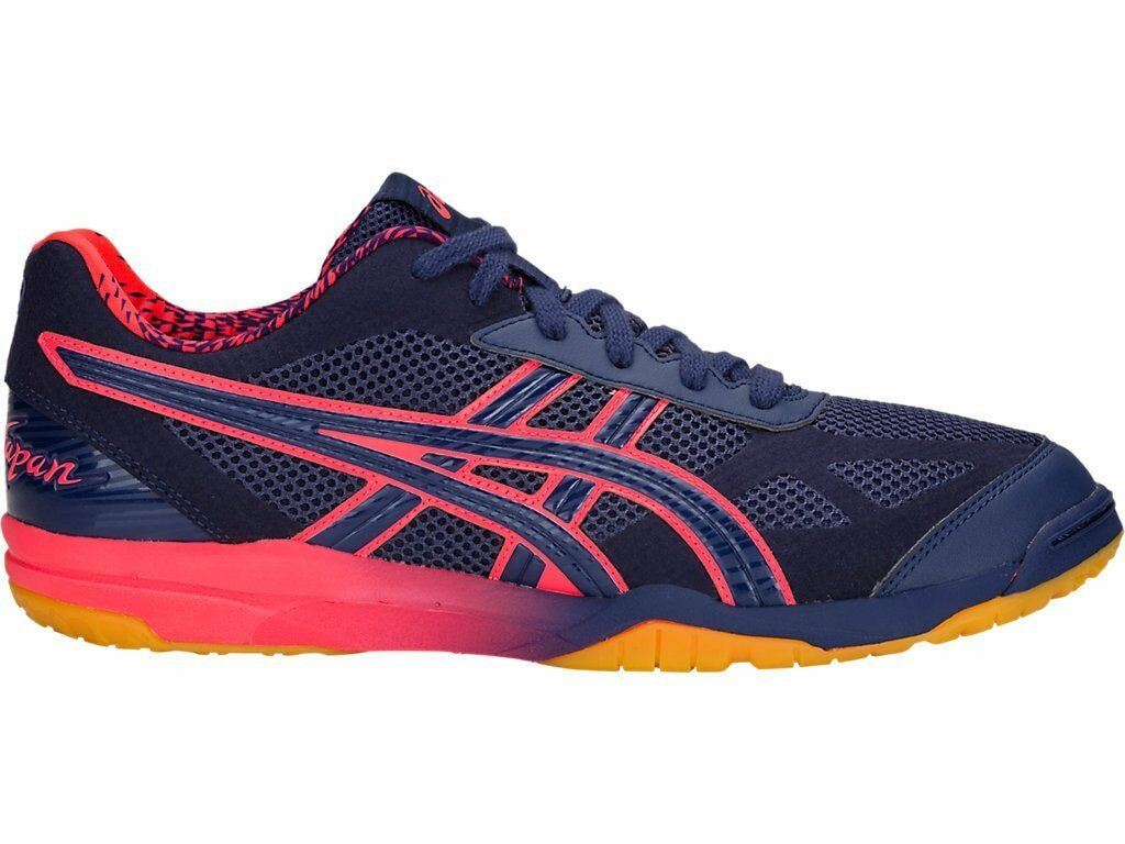 Asics Rote Blue Japan Lyte AWC Indigo Blue Rote Pink Men Volleyball Shoes 1053A001-400 f6b712