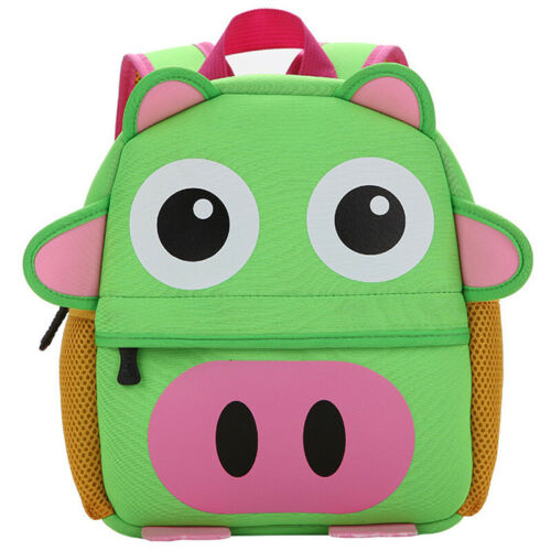 Kids Girl Boy Cartoon Animals Backpack Kindergarten Anime School Bag Rucksack