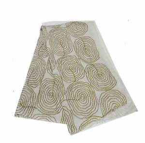 Intarsio Geometrici Blanca Disegni Con Stola Marrone Donna Sciarpa Yqvzn