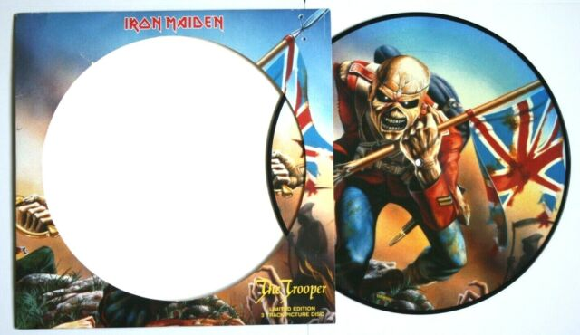 "Iron Maiden The Trooper 12"" Vinyl Picture Disc"