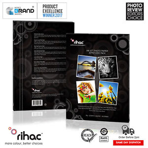 Photo-Paper-Gloss-Canvas-Matte-High-Resolution-Adhesive-Magnet-Rihac-Sample-Pack