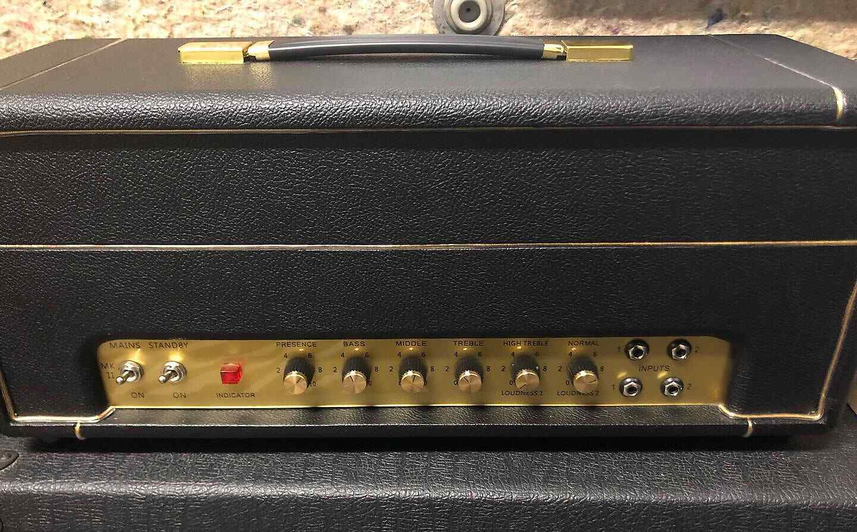 Handwirot 50 Watt 1987x Plexi-Style Amp Head
