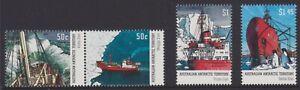2003-AAT-Australia-Post-Design-Set-MNH-Supply-Ships-SG160-gt-SG163