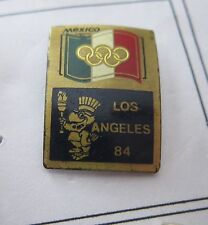 1984 LOS ANGELES Olympics MEXICO NOC WITH LA 84 MASCOTTE pin badge