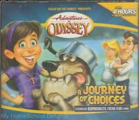 Adventures In Odyssey Journey Of Choices 20 4 Cd Audio Set Christian Values