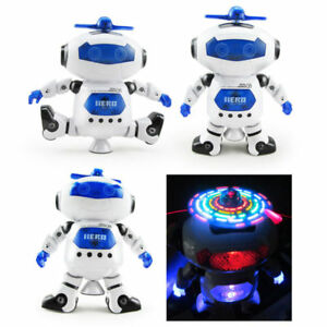 Kids Toys Boys Robot Kids Toddler Robot Dancing Musical Toy Xmas
