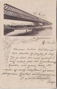 Latvia, Lettland, Riga, Railway bridge, PPC pre 1905