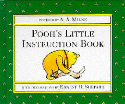 """""""AS NEW"""" Pooh's Little Instruction Book (Winnie the Pooh), Milne, A. A., Book"""