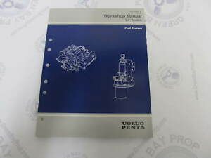 7797363-4 1997 Volvo Penta Fuel System Service Workshop ...