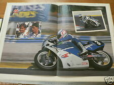 A231- LE BIHAN AND MOINEUA ENDURANCE SUZUKI GSXR NO 3 CHAMPION 1987 POSTER
