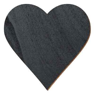 Deko Zuschnitte Größenauswahl Lavendel farbene Holz Herzen