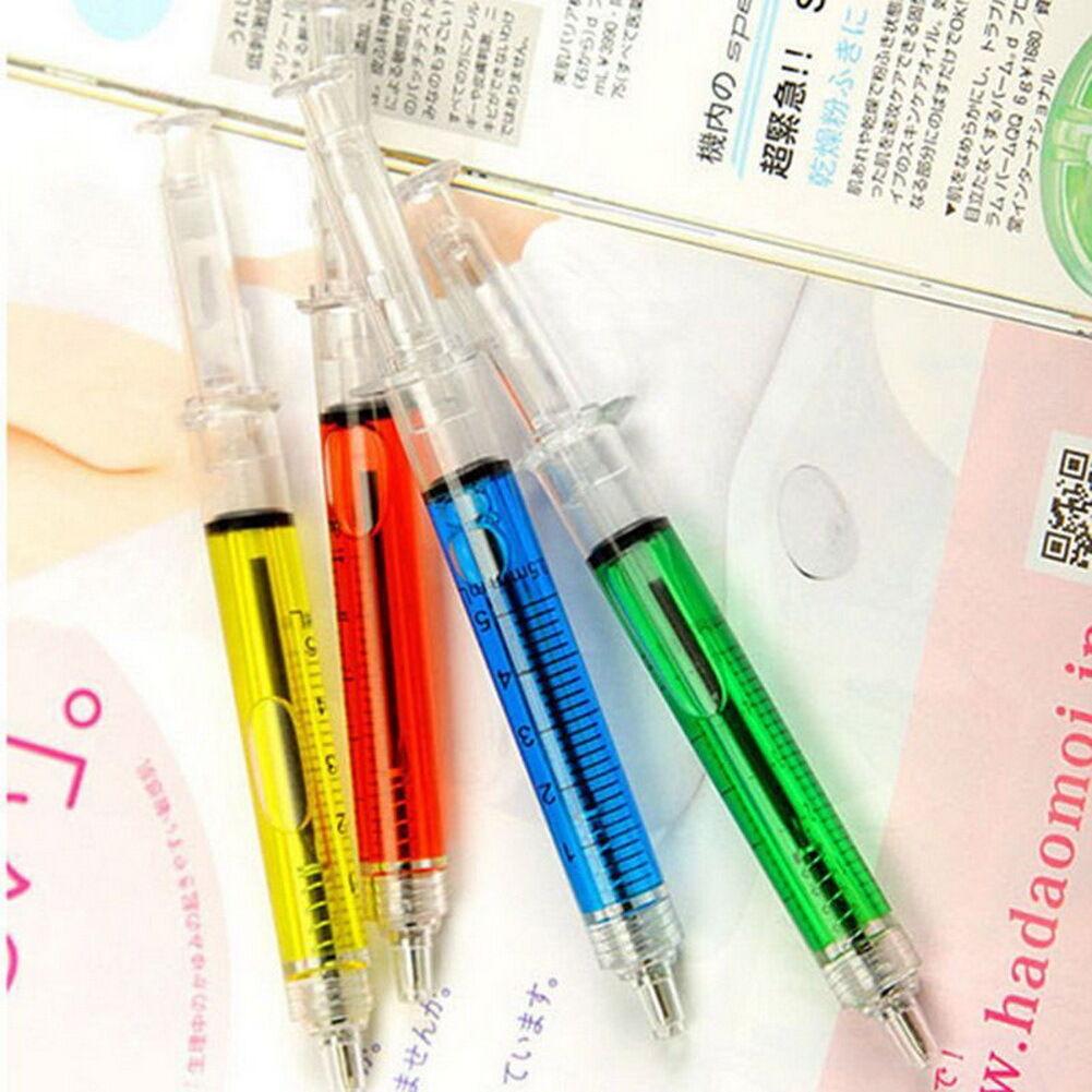 Stationery Gift Nurse Liquid Syringe Injection Ballpoint Pen Boy Girl School 3