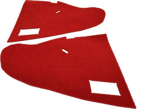 MOQUETTE ROUGE CONSOLE CENTRALE PEUGEOT 205 GTI CTI PHASE 1 1984-87