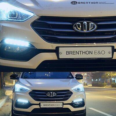 Brenthon Grill Trunk Horn Wheel Emblem Badge For 13~2016 Hyundai Santa Fe XL 7PC