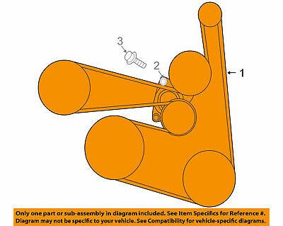 NISSAN OEM 07-13 Altima-Serpentine Drive Fan Belt ...