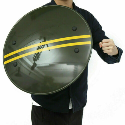 UK PC Hand-held Shield Police SWAT Riot Shield for Security Protection Tactical#