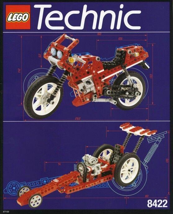 Lego Technic Modello che È in Sella Cycle 8422 Circuito Urto Racer Nuovo