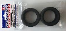Tamiya 50454 Racing Slick Tires (1 Pair) (TT01/TT02/TL01/TA06) NIP