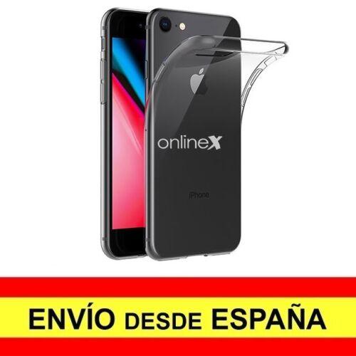 Funda Silicona para IPHONE 7 / IPHONE 8 Carcasa Transparente TPU ¡ESPAÑA! a2331