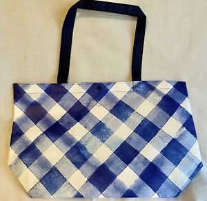 New-Bath-amp-Body-Works-2019-Black-Friday-VIP-Gingham-Tote-Bag-NO-PRODUCT