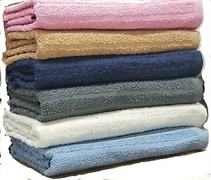 Springfield Linen 27x54 inch Extra-Absorbent 100% Cotton Bath Towel - 6 Pack