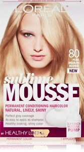 L Oreal Sublime Mousse By Healthy Look Hair Color Pure Medium Blonde 1 Ea Ebay