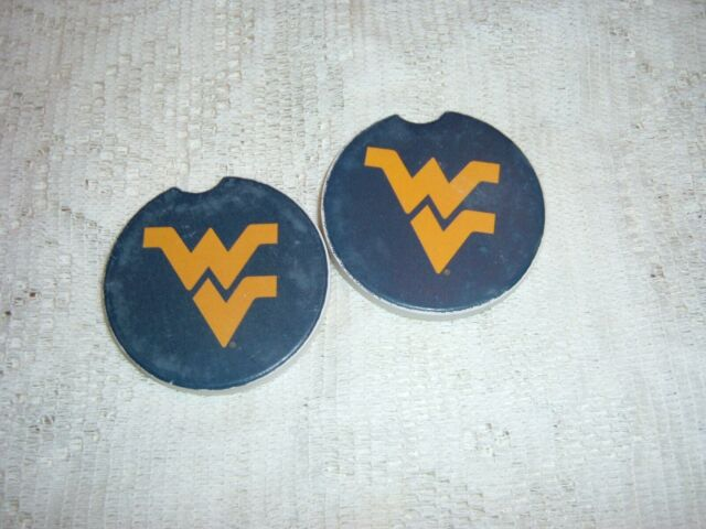 2-Pack Thirstystone West Virginia University Car Cup Holder Coaster