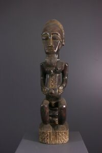 STATUE-BAULE-AFRICAN-ART-AFRICAIN-PRIMITIF-ARTE-AFRICANA-AFRIKANISCHE-KUNST