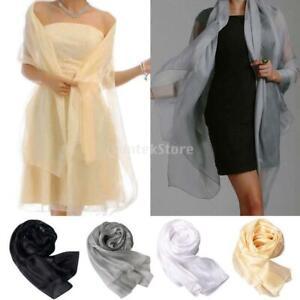 Fashion-New-Lady-Women-Long-Soft-Wrap-Lady-Shawl-Silk-Chiffon-Scarf-Scarves