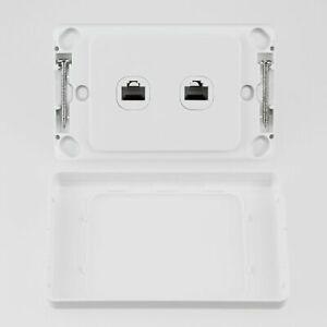 5 x 2 Gang RJ45 Data Internet Wall Socket Outlet Ethernet ...