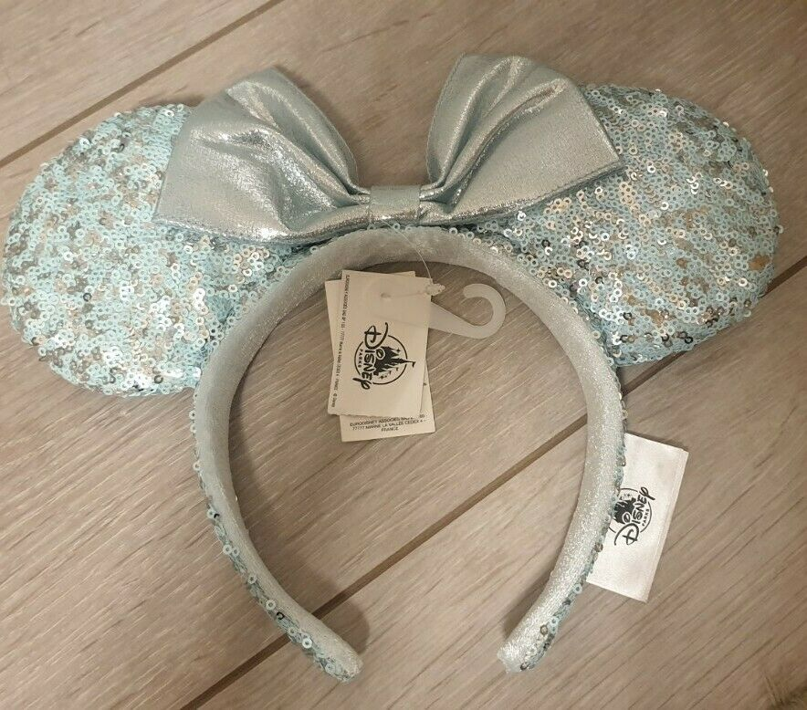 H19 Headband/Headband Disneyland Paris Minnie Sequin Arendelle