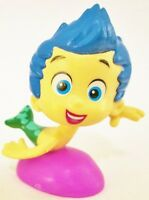 Gil Nickelodeon Show Bubble Guppies Boy Pvc Toy Figure Cup Cake Topper Figurine