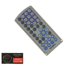 INSIGNIA PORTABLE DVD Remote Control w/Battery-1 Year Warranty