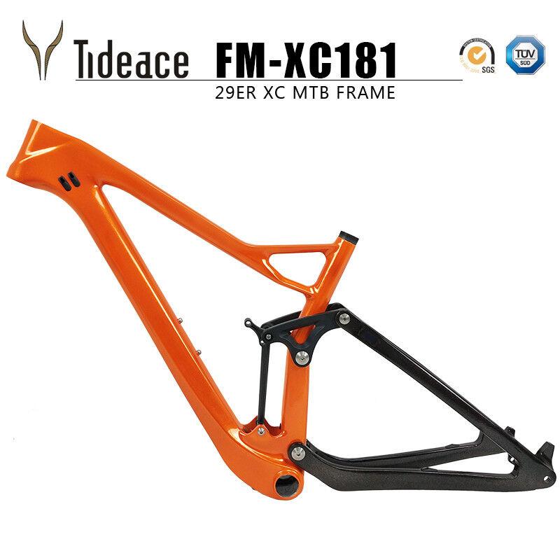 Twinloc 27.529er Carbon OEM Suspension Mountain XC Bicycle Frame MTB Bike Frame