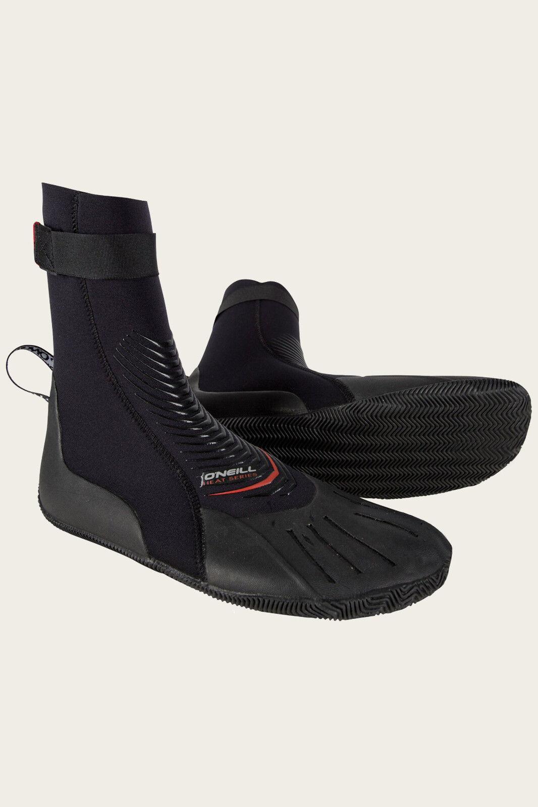 O'Neill Heat 3mm Round Toe Surf Boots - 6